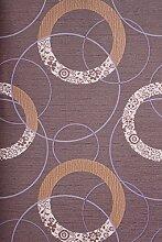 Vinyltapete Tapete Mustertapete # lila/creme/beige # Kingwelson # 511105