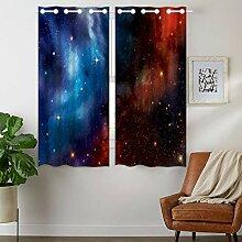 Violetpos 160 x 110 cm Sternenhimmel Cosmic Galaxy