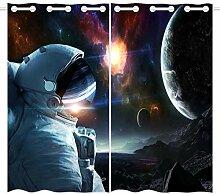 Violetpos 180 x 140 cm Astronaut Weltraum Galaxie