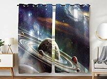 Violetpos 245 x 140 cm Magischer Weltraum