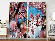 Violetpos 245 x 140 cm Schön Rosa Kirschblüte
