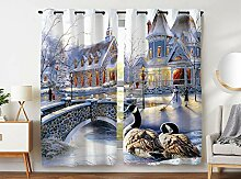 Violetpos 245 x 140 cm Weihnachten Villa