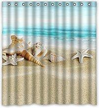 Violetpos Seashell Starfish Weiches Sand Blaues