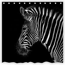 Violetpos Tiere Zebras Duschvorhang Badezimmer