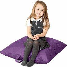 Violett, gesteppte, wasserabweisende groß Slab Sitzsack