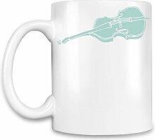 Violin Kaffee Becher