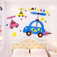 VIOYO Auto Muster Aufkleber Für Kinderzimmer