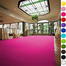 VIP Eventteppich Hochzeitsteppich - Läufer Gala Events - PODIUM | Pink | 1,00m x 10,00m