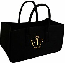 VIP Tasche Kaminholz Filz 50x25x25 cm Bag Kaminzubehör