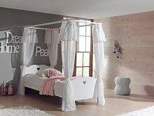 VIPACK AMCO30 Himmelbett mit Textil-Vorhang, 90 x