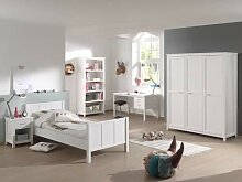 Vipack Stella Set Bett, Schreibtisch, Regal,
