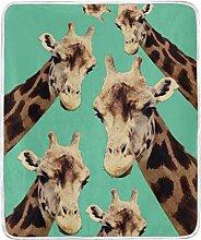 Vipsa Decke Giraffe Muster Ölgemälde Super