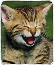 Vipsa Decke Katze Super weiche Decke Warme