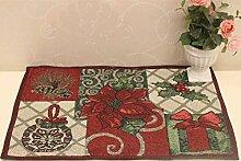 Virginia Tisch-Sets Baumwolle Bettwäsche–memorecool Haustierhaus Freundlicher Rustikal Look Farbe weben kein Verblassen 1Stück 33x 45,7cm, baumwolle, only 1 placemat, 13x18inch