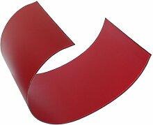 VIRGOLA: Holzkorb Leder mit Stahlstruktur, aus