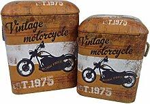 Viscio Trading Vintage C & L Puff Blechdose