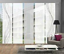 Vision S 95633-0307 | 5er-Set Schiebegardine