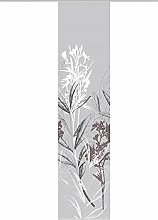 Vision S Schiebevorhang Digitaldruck Bambus-Optik