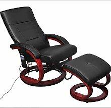 Vislone Kunstleder Elektrischer Massagesessel