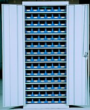 Viso ap84Pa022-türer Schrank mit 84-bins–Blau