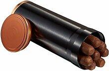 Visol Carlos 7-Cigar Desk/Travel Cigar Humidor,