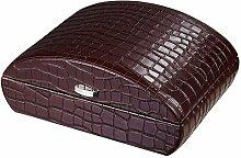 Visol Produkte vhud727Blake Krokodil Leder Braun