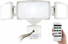 VisorTech LED Strahler mit Kamera:
