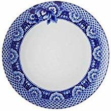 Vista Alegre Ming Speiseteller, Porzellan, Blau, 4