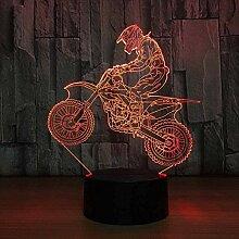 Visual Source Light 3D Motocross Bike Nachtlichter