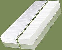 VitalCare Comfort Plus Matratze 7 Zonen Premium Kaltschaum Allergiker Ökö, Breite x Länge:180cm x 200cm, Härtegrad:H4