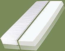 VitalCare Comfort Plus Matratze 7 Zonen Premium Kaltschaum Allergiker Ökö, Breite x Länge:90cm x 190cm, Härtegrad:H2