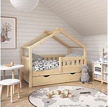 VitaliSpa® Babybett Design Kinderbett 140x70