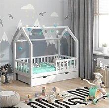 VitaliSpa® Hausbett Kinderbett Spielbett Wiki