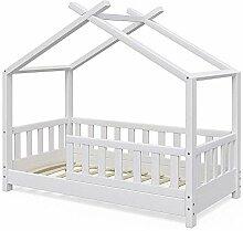 VitaliSpa Kinderbett Hausbett Design 70x140cm