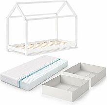 VitaliSpa Kinderbett Wiki 90x200 cm Weiß