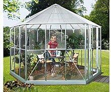 Vitavia Gewächshaus Hera aus Alu/Glas silber Hera