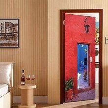 Vitila Tür Aufkleber Wandaufkleber Moderne