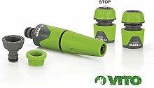 VITO Garden® 5-teiliges Gartenschlauch-Adapter
