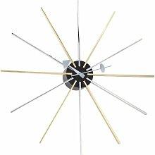 Vitra 20125901 Wanduhr Wall Clock George Nelson, 1955 610 mm Chrom / Messing