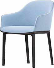Vitra 423 006 00123079 Softshell Chair, eisgrau