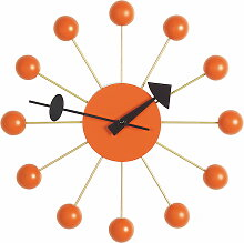 Vitra - Ball Clock, orange