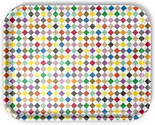 Vitra - Classic Tray large, Diamonds multicolour