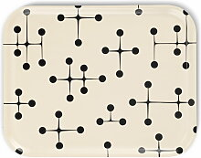 Vitra - Classic Tray large, Dot Pattern light