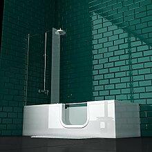 VitrA Conforma Combo Rechteck-Badewanne Einstieg