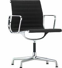 Vitra EA 103 Stuhl Nero Untergestell Verchromt