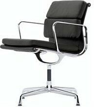 Vitra - EA 208 Soft Pad Chair Aluminium poliert