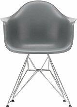 Vitra Eames DAR Stuhl Mit Verchromtem Untergestell