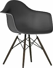 Vitra Eames DAW Stuhl Mit Schwarzem