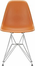 Vitra Eames DSR Stuhl Mit Verchromtem Untergestell