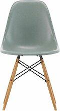 Vitra Eames DSW Fiberglass Stuhl Mit Untergestell